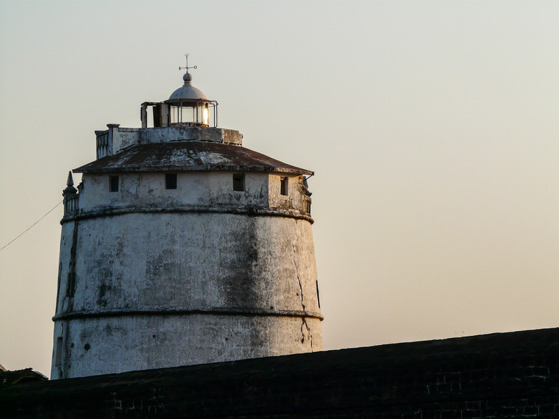 Cracked Portuguese Lighthouse, Goa