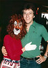 Dave & cougar, Pontins Holiday Camp 1977