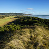 Coastal section of Muriwai golf links, above the par 5, 14th