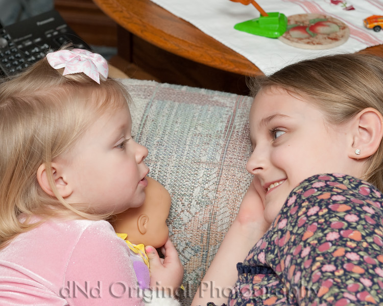 06 Family Gathering Feb 2015 - Faith & Brielle