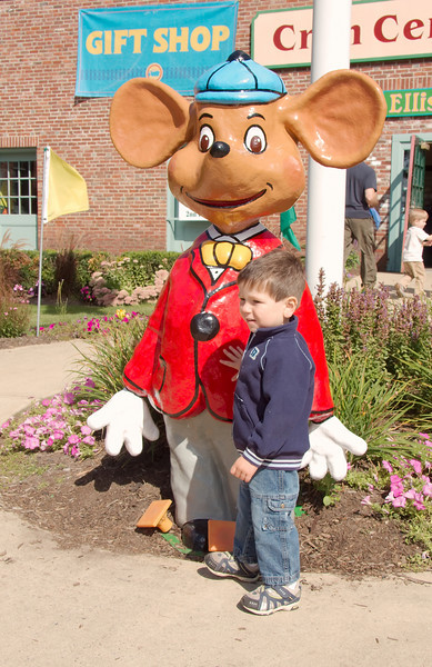 Mr. Paul and the mouse