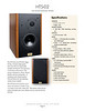 Catalog design and photography for custom made speakers.