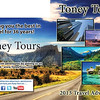2013 Cover Spread for Toney Tours Travel Catalog