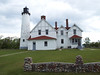Point Iroquois Lighthouse is one that our family has visited many times.  It is located on the shores of Lake Superior just west of Brimley.