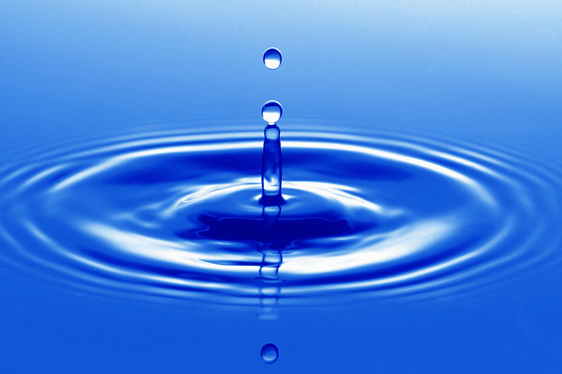 Drop Falling into Water ca. 2000