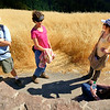Group hike to Stegner Bench in Long Ridge Open Space Preserve.