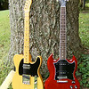 2008 Fender Telecaster 52RI and 2009 Gibson SG Classic