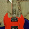 1988 Gibson SG Special in Ferrari Red