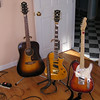 Guild, Gibson, and Fender