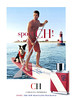 CAROLINA HERRERA Sport CH 2012 Spain 'Sport, the new masculine fragrance' MODEL: Aaron O'Connell, PHOTO: Bruce Weber