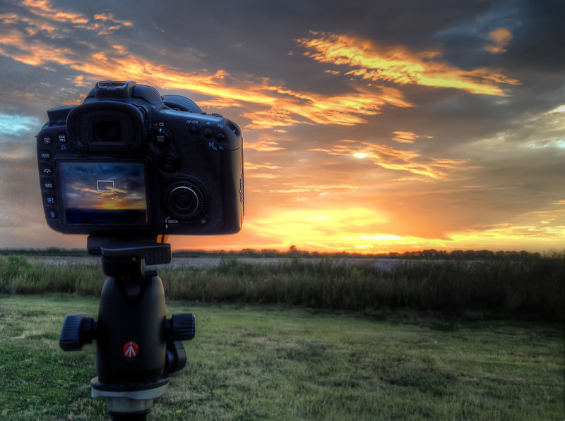 Capturing a Sunset