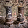 paraffin heaters found in derelict church.