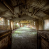 serving hatch in the mess room at the derelict POW camp. #Urbex #HDR #ArtHakker