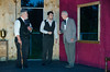 General photographs of play, Dracula. Personal Rush Open Air Stage.  Heritage Shores resident, Dennis McGeady stars in play.