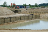 July 28th, 2014 Eagle Springs construction.  Looks like part of a bridge is being constructed.