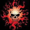 4424714-burning-skull-vector-illustration-over-black-background