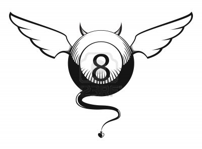 17122123-vector-illustration-of-devil-eight-ball-with-horns-wings-and-tail