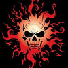 4424716-burning-skull-vector-illustration-over-black-background