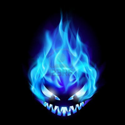 10866206-blue-evil-burning-halloween-symbol-illustration-on-black-background
