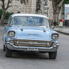 Old Powder Blue American Chevvy in Havana