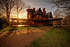 The Sun Sets on the Mark Twain House