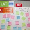 SEW Eurodrive asks students what they want in an employer. (Photo/Kim McManus)