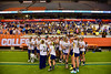 West Genesee Wildcats played the CBA Brothers for the Section III Class A Girls Lacrosse Championship at the Carrier Dome in Syracuse, New York on Tuesday, May 26, 2015. West Genesee won 8-7.