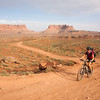 Nearing the end of day one on the White Rim road - 80km - and looking forward to a feed!
