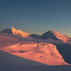 sunset on mt foraker