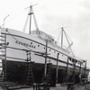Azoreana,Built 1937 Campbell Machine,San Diego,Before Launching,Van Camps,Manuel Rosa,