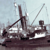 Pisces Built 1957 Costa Mesa Owner Robert Austin Fished The Boat Over 50 years Pic Taken   San Pedro Before Lengthing her