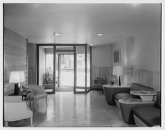 Medical Arts Center lobby, October 1951