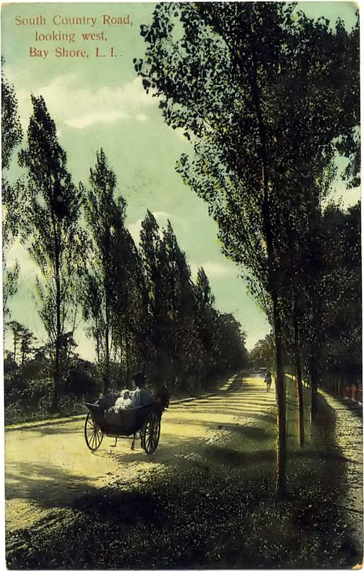 South Country Road, 1908