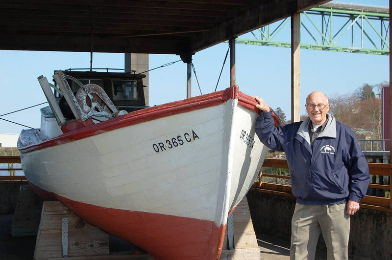 Jack Marincovich,Bowpicker Built 1948 By CRPA Astoria,Pic Taken 2014,