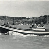 1952 CRPA Astoria,First Bristol Bay Bowpicker Finnished,BB 1,Dredge Natooma Background,S W Lovell Along Side Dredge,Pic Taken Youngs River,