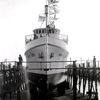 Mary Lou,Launching,Built 1947 Lynch San Diego,Herbert Hudgins,Joseph Gann,Converted Seining 1960's,