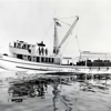 Americano,Built 1944 Tacoma,Peterson Boat Building,For Donald Morgan,Pic Taken 7-10-1944 Sea Trials,Later Owners,Francisco P Vaia,Then 1952 Renamed Lady Ann  Robert King,
