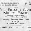 Whitehead Social Society Black Dyke Mills Band Lower Mill 19480228