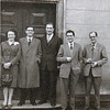 DWS LowerMill 1956    Joan Dugdale, Fred Pease, Peter Rostron, Gordon Hartley and Victor Baxter (2)