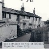 Edgeside old cottages top of Knowle 1973 jd