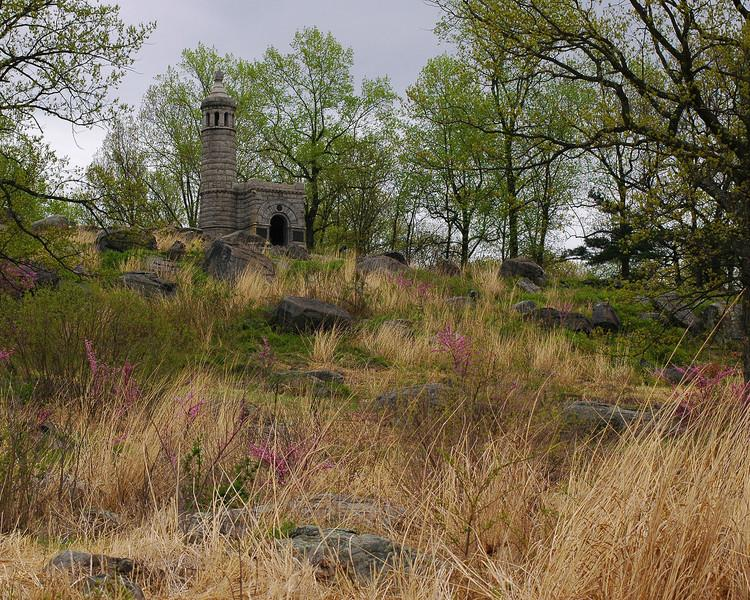 Spring on Little Round Top