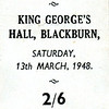 Goodshaw Band King George's Hall Blackburn 19480313