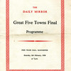 Goodshaw Band Great Five Towns Contest Manchester 19580208 1
