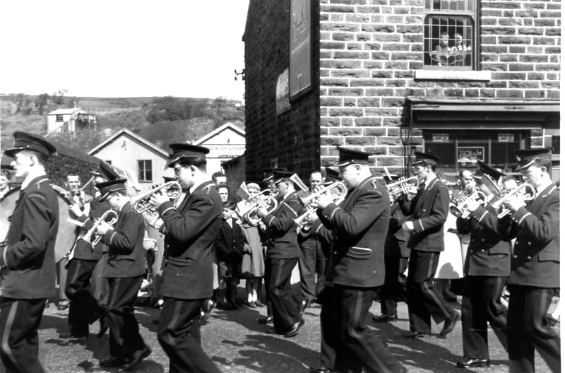 Goodshaw Band St James The Less May Procession 1960