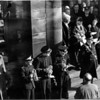 Rawtenstall Library Proclamation of Queen Elizabeth II with Goodshaw Bandsmen Jimmy Gluyas Jack Howarth Joe McGann February 1952