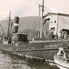 New England,Halibut Steamer With Dories,