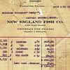 Vansee,Andrew Olsen,1921 Halibut Delivery Statement,New England Fish,Vancouver Canada,