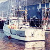 Sundancer,Built 1975,Rodney Mcvicker,57,000 pds Black Cod,Pic Taken 1989 Sitka,Alaska,Right Claudia H,Built 1951 Sagstad,