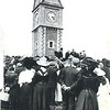 Opening of Clock Tower Victoria Park c1908
