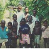 Jeff & Nancy Johnson, Pine Hills EMC, went to Africa.  Look at the t-shirt on the boy in the front middle.